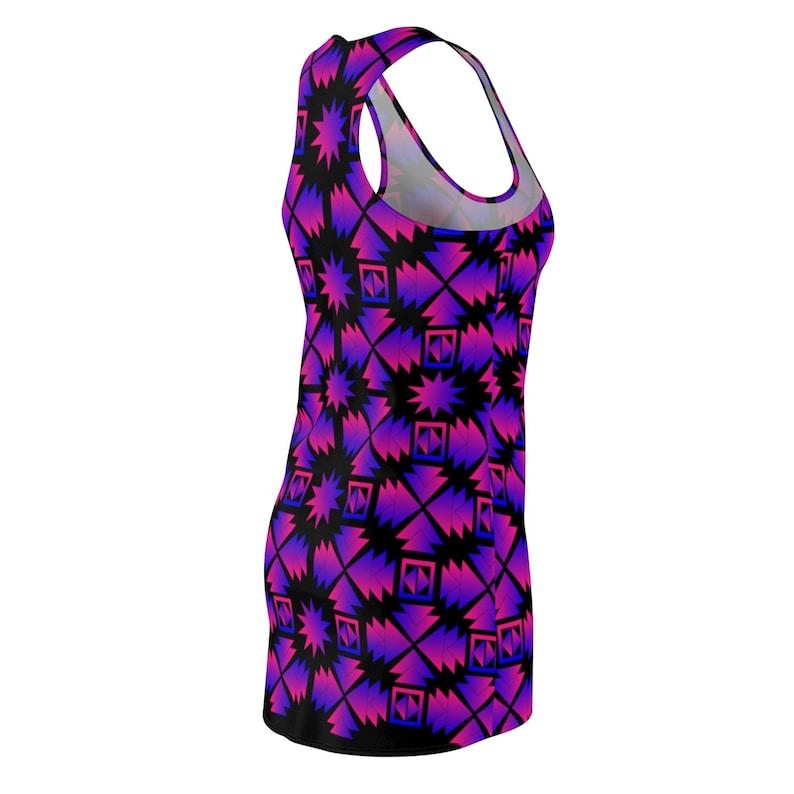 Women/'s Cut /& Sew Racerback Dress