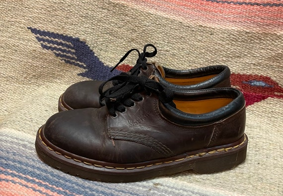 Vintage Dr. Martens Made in England Brown Leather