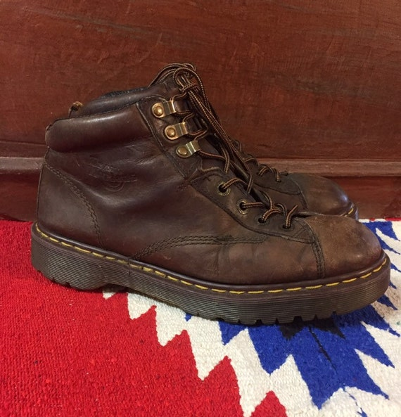 Rare! Vintage Dr. Martens Made in England 7 hole L