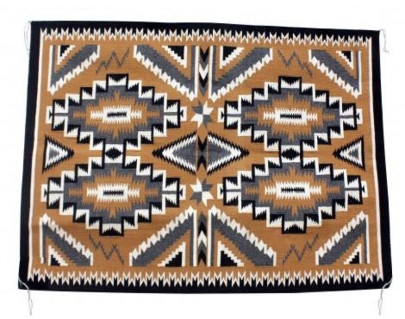 Marrita Gould 59 In X 43 In Teec Nos Pos Rug Navajo Handwoven