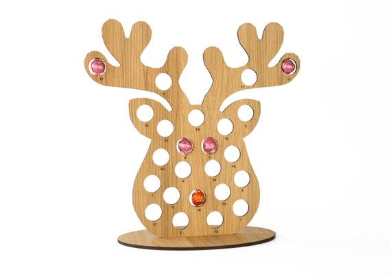 REINDEER *PERSONALISED* Advent Calendar-Chocolate Orange Ferrero Rocher Lindt
