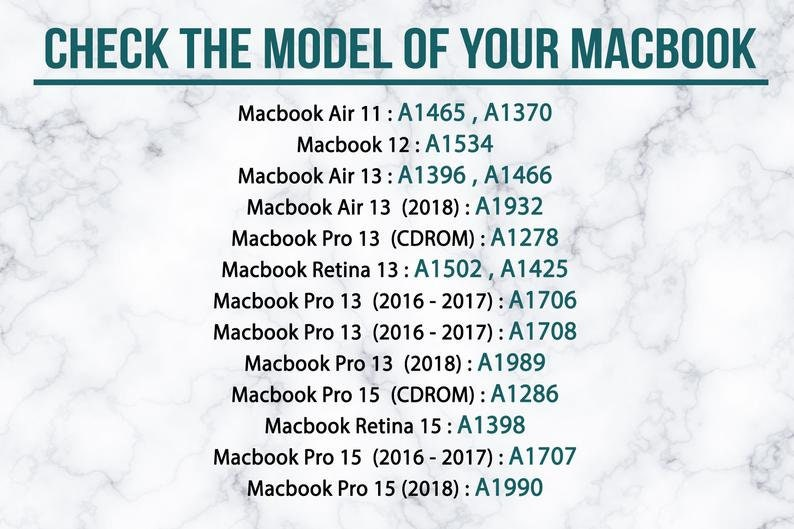 Blue Marble MacBook Air New Gold Pattern Air 13 Case Macbook 13 Pro Touch Bar Watercolor Case Macbook 15 Pro Retina Oil Marble MacBook 12