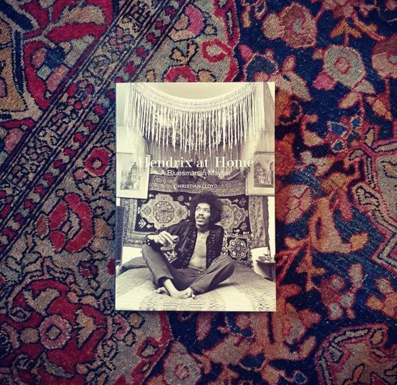 Music Books  Jimi Hendrix at Home  A Bluesman in Mayfair image 0