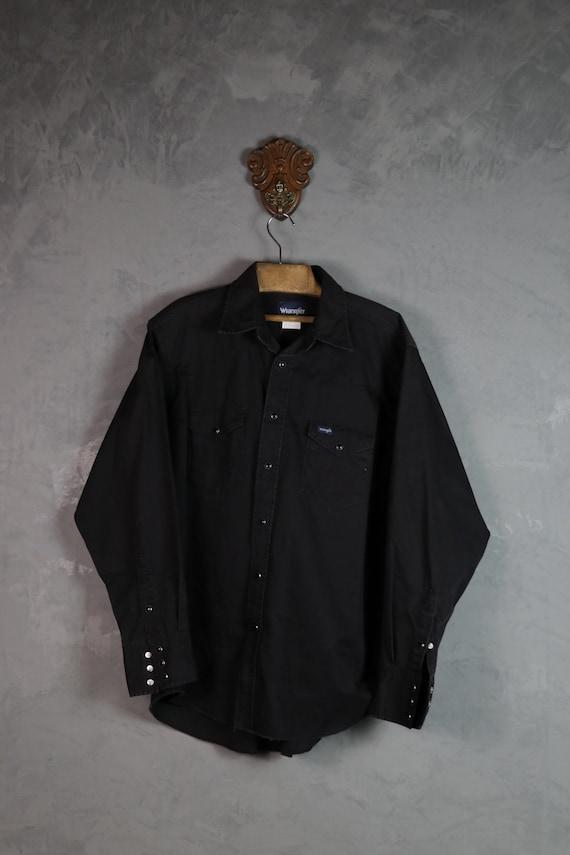 Wrangler Western shirt/ Cowboy shirt