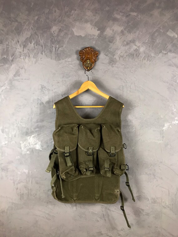 50's〜60's French Military Grenade Vest