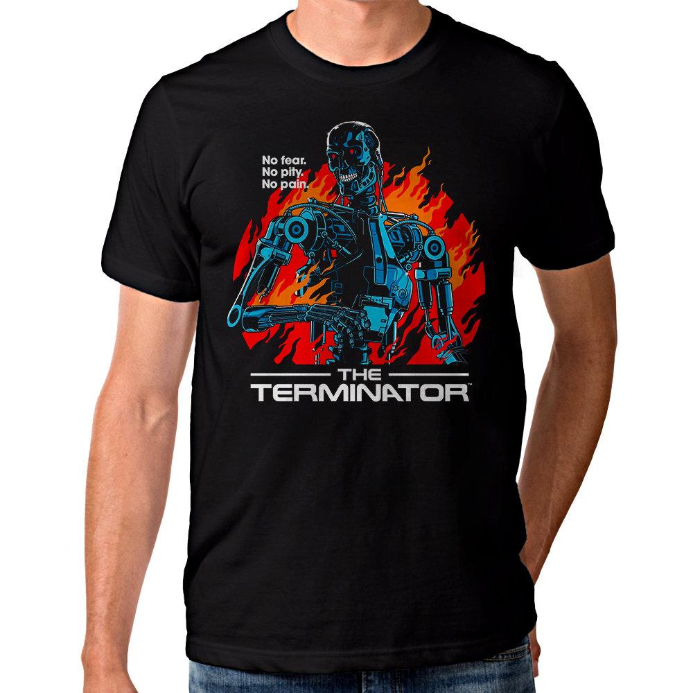 The Terminator T-shirt - No Fear, No Pity, No Pain - for Men or Women