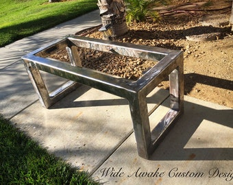 Excellent Bench Frame Etsy Andrewgaddart Wooden Chair Designs For Living Room Andrewgaddartcom