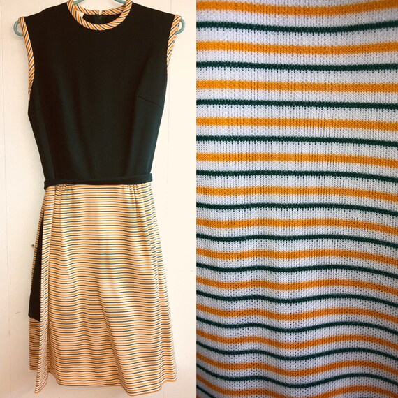 1970s Dress with Shorts Underneath/Romper