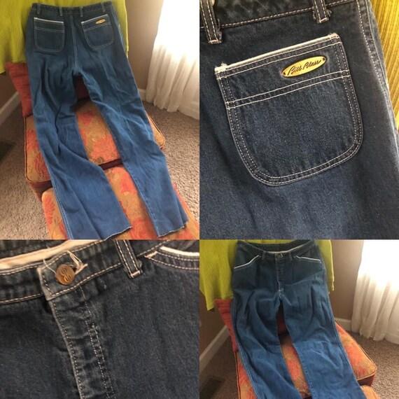 1970s Bill Blass Flared Jeans