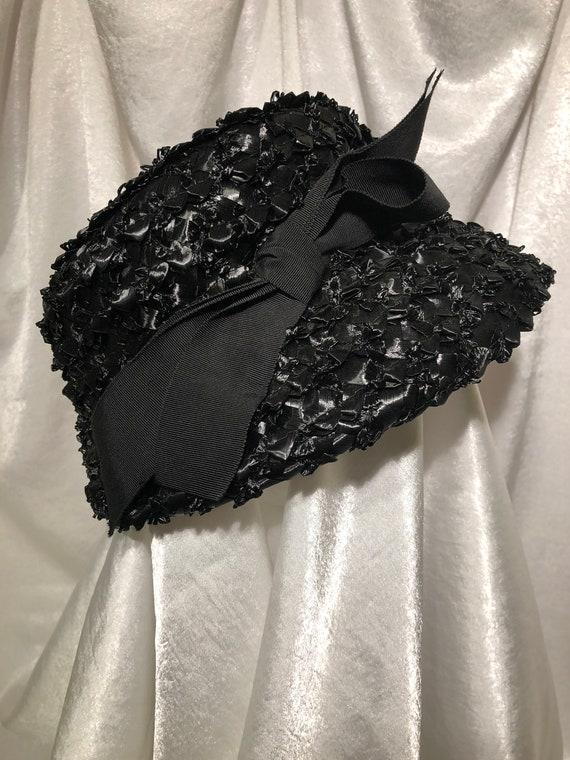 Clover Lane Straw Hat, vintage