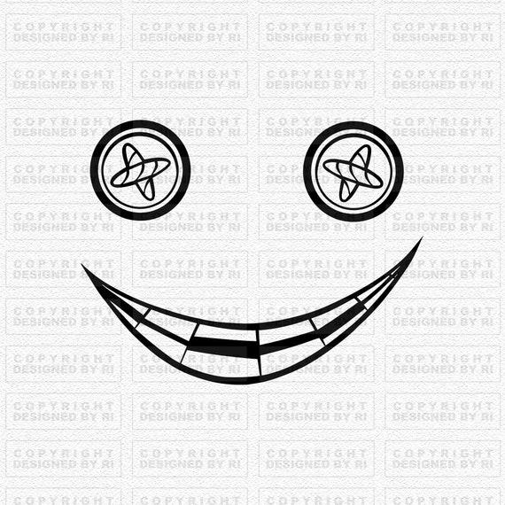 Button Eyes Svg Coraline Svg Horror Svg Nightmare Svg Etsy