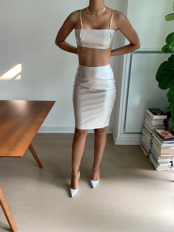 Vegan 'leather' Two-Piece - image 2