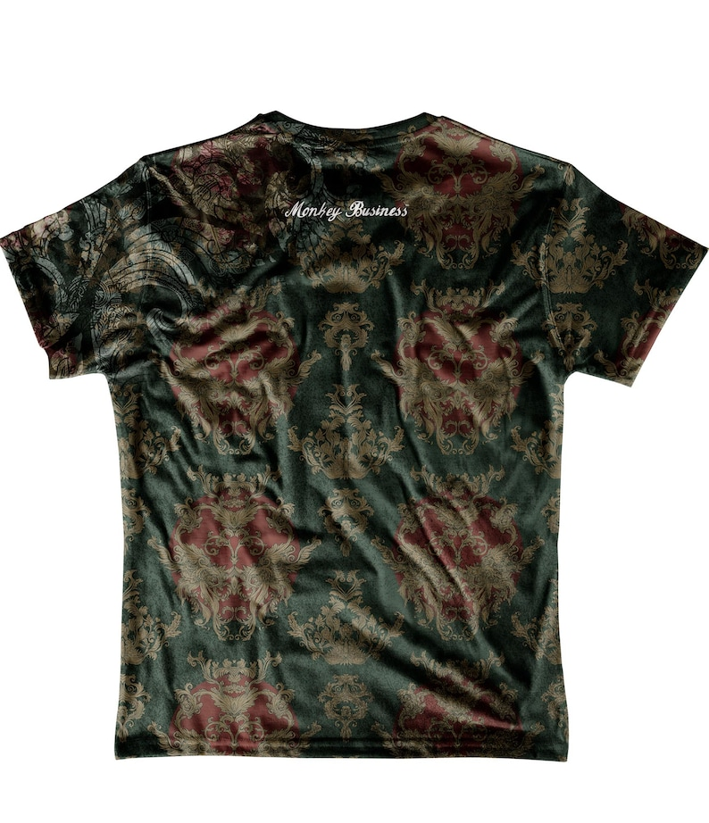 Monkey Business Sir Lion All Over Printed T-shirt
