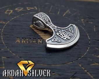 Perun's Axe, Trident, Perun's ax, Svarog, Silver Viking Axe, Perun, Perun axe, Axe of Perun pendant
