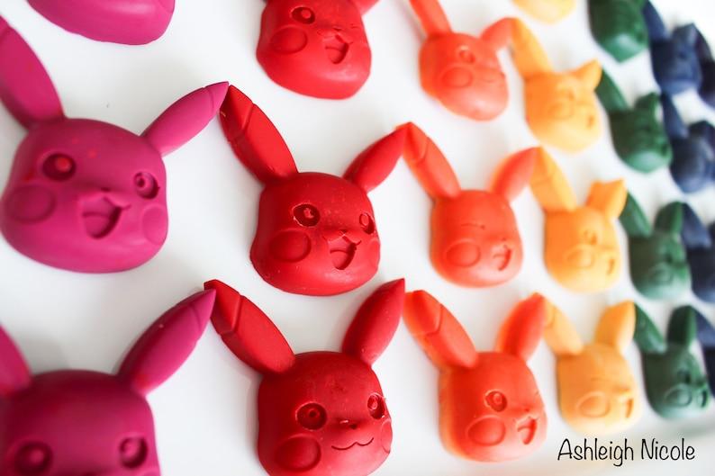 6 Pokémon Crayons  Pikachu image 0