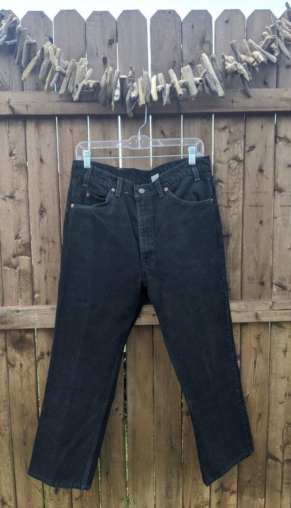 Levi's Orange Tab 517 Jeans