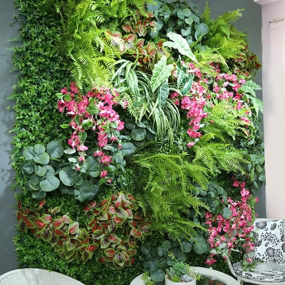 Artificial Plant Fake Plant Wall Lawn Plastic Lawn Etsy