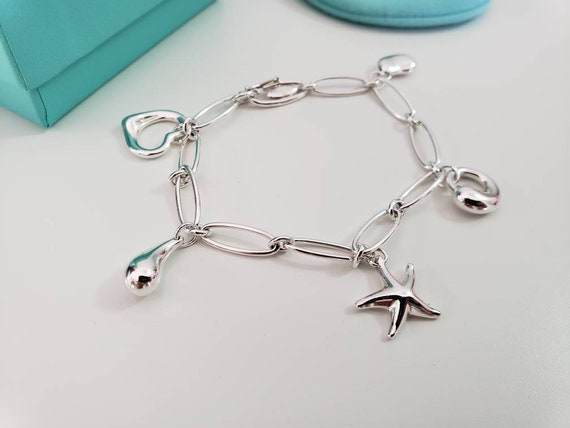 Tiffany & Co Elsa Peretti Charms Bracelet
