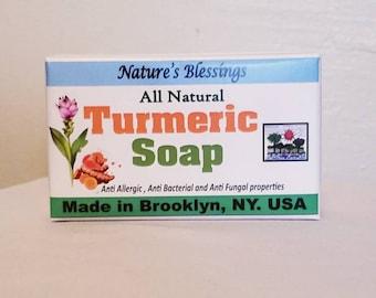 All Natural Tumeric Soap