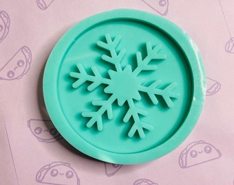 Large Snowflake Silicone Mold, Mold for Resin, 4in