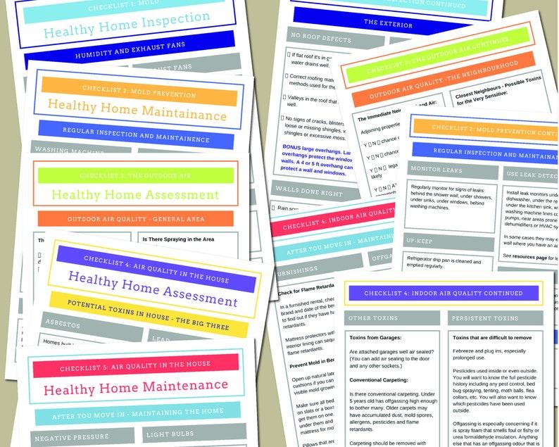 Healthy Home Checklist image 0