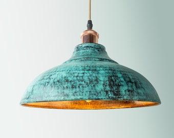 Copper Pendant Light Etsy