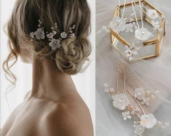 Bridal hair jewelry wedding hairpins bride hair jewelry Bridal hair comb wedding bride hair accessories jewelery wedding jewelry