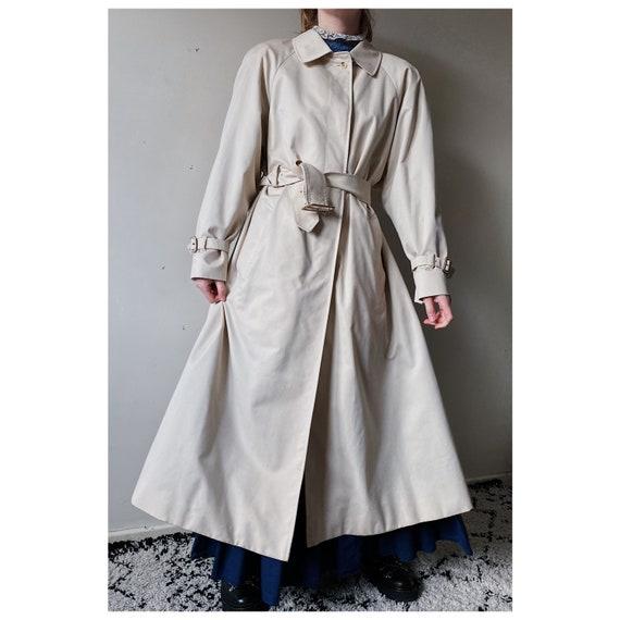 Vintage Aquascutum oversized trench coat