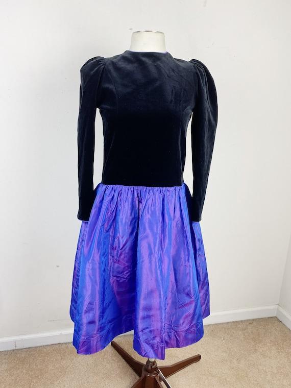 Vintage Laura Ashley Girls Vintage Party Dress Siz