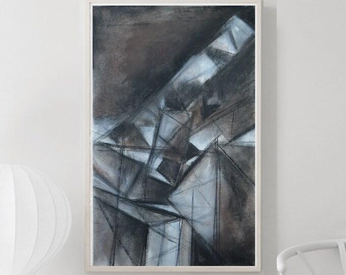 DELTOS, Cubism architectural abstraction, Original