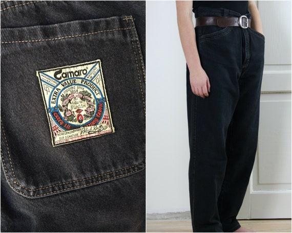 90s Mom jeans black vintage