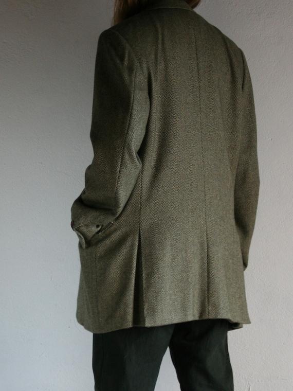 Vintage Canali Cashmere Blazer/Loro Piana/Green/O… - image 4