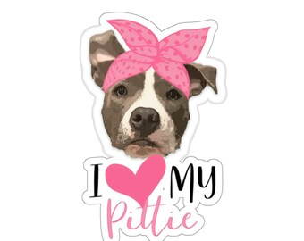 I Love Pitties  Turquoise Glitter Customize your Vehicle Pittie Mom on Aqua Glitter License Plate Pit Bull Lover Dog Mom Gift