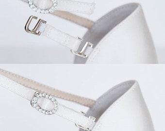 ankle strap extender pair / hook on version