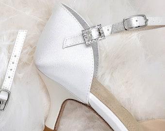 ankle strap extender pair / silk