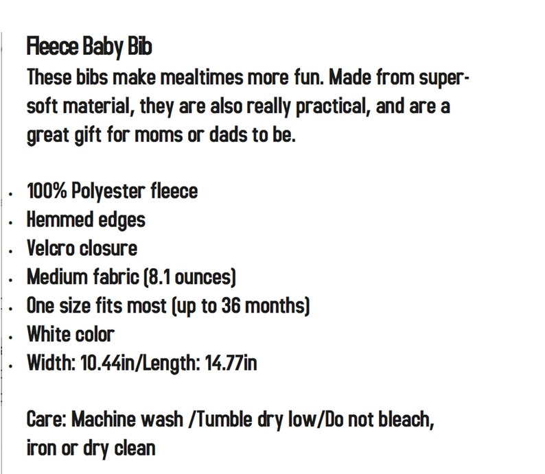 Customizable My Big Sister Fraps Corgi Fleece Baby Bib