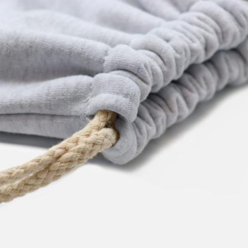 Custom Nothing is Impossible Corgi Drawstring Sweatshirt Bag