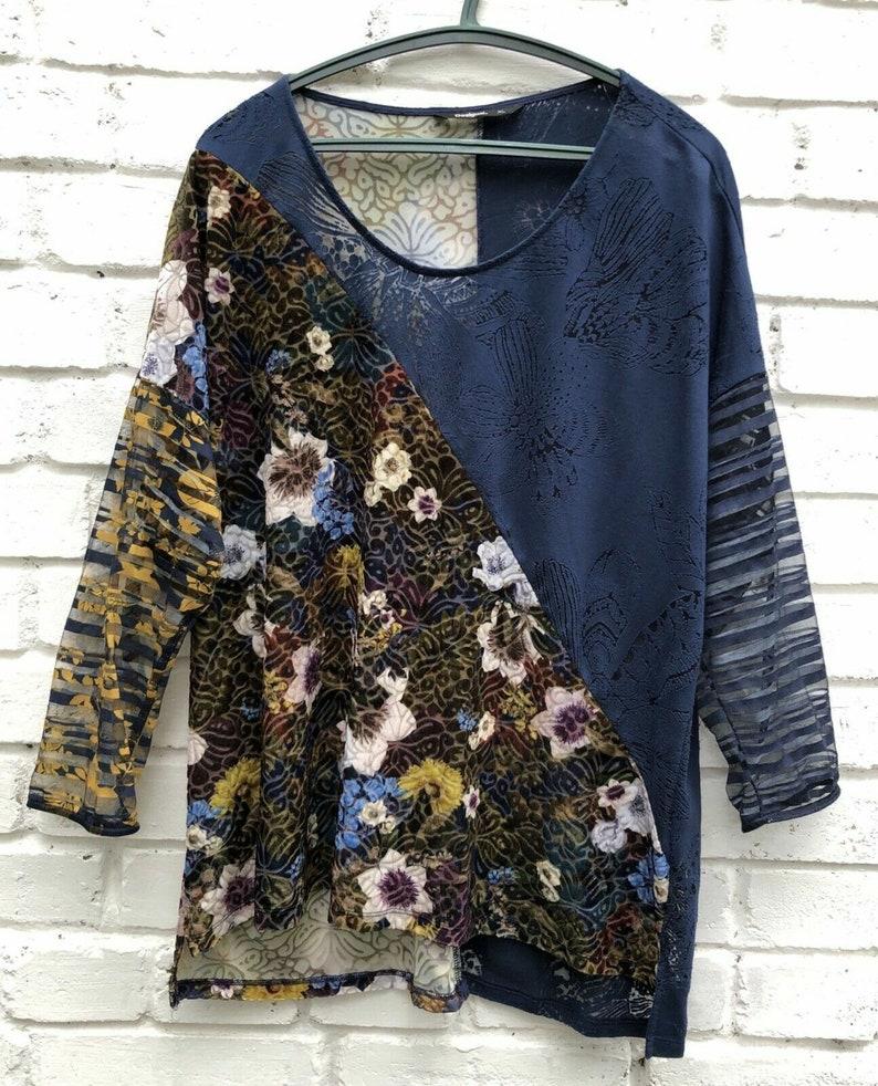 Desigual viscose tunica top dresses tunica multi color velvet