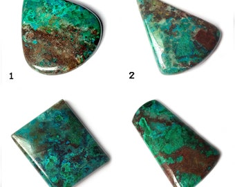 """AAA 100/% NATURAL CLASSICAL /""""GREEN ONYX/""""  LOOSE GEMSTONE CABOCHON FOR PENDANT USE"""