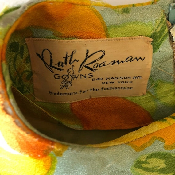 Scaasi Boutique Ruth Roaman Gowns Vintage1960s  B… - image 8