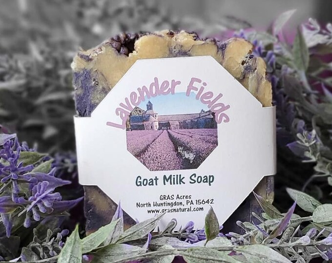 Lavender Fields Goat Milk Soap