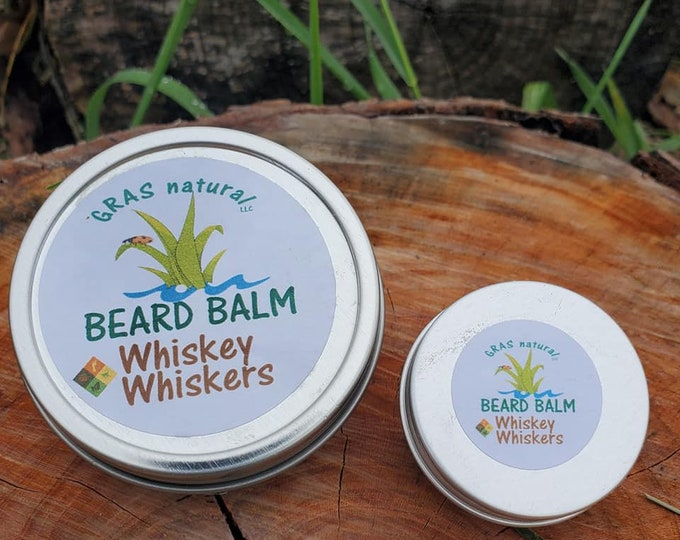 Whiskey Whiskers Beard Balm