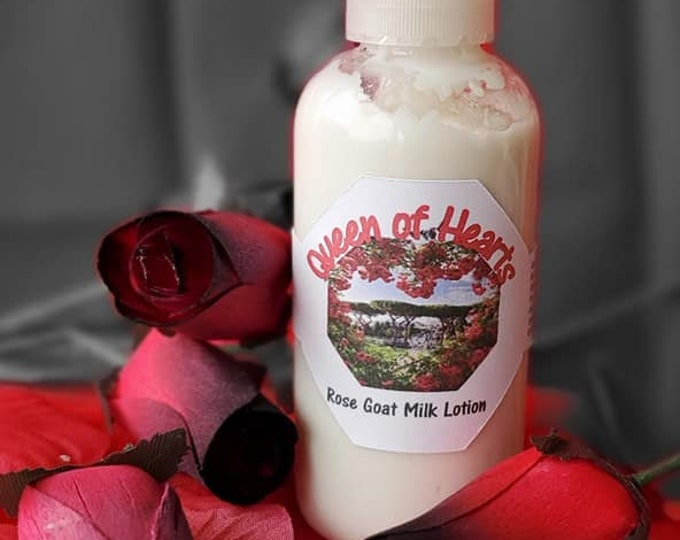 Queen of Hearts, Rose Goat Milk Lotion