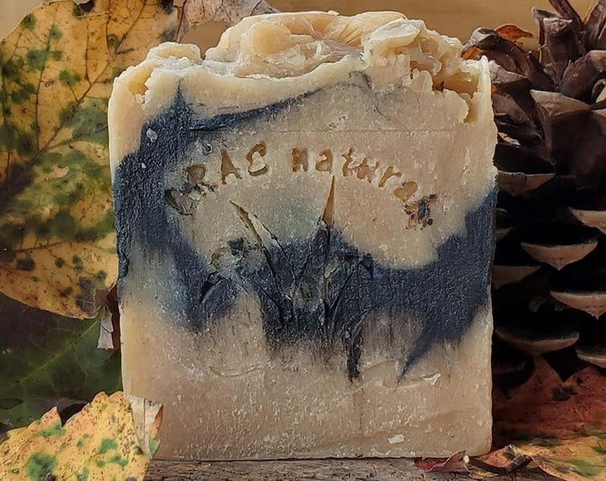 Go Smudge Yourself-Sage & Charcoal Goats Milk Soap