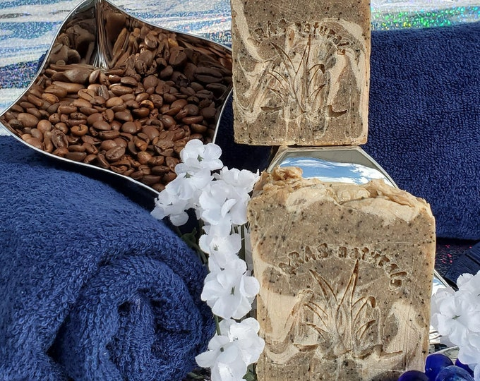 Get Up and GOat Coffee and Goat milk soap