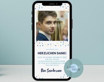 Einladungskarten zum Geburtstag Einladung Smartphone Handy Partyphone