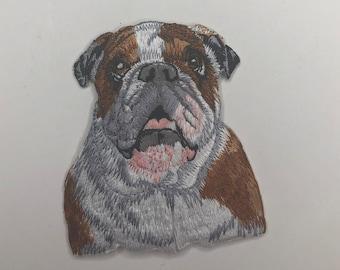 "2 /"" x 5.4cm Golden Retriever Hund Rasse Kopf Bild Bestickt Patch"