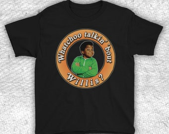 /'What you talkin/' bout Willis?/' S-XXL Funny mens Different Strokes TV T-shirt