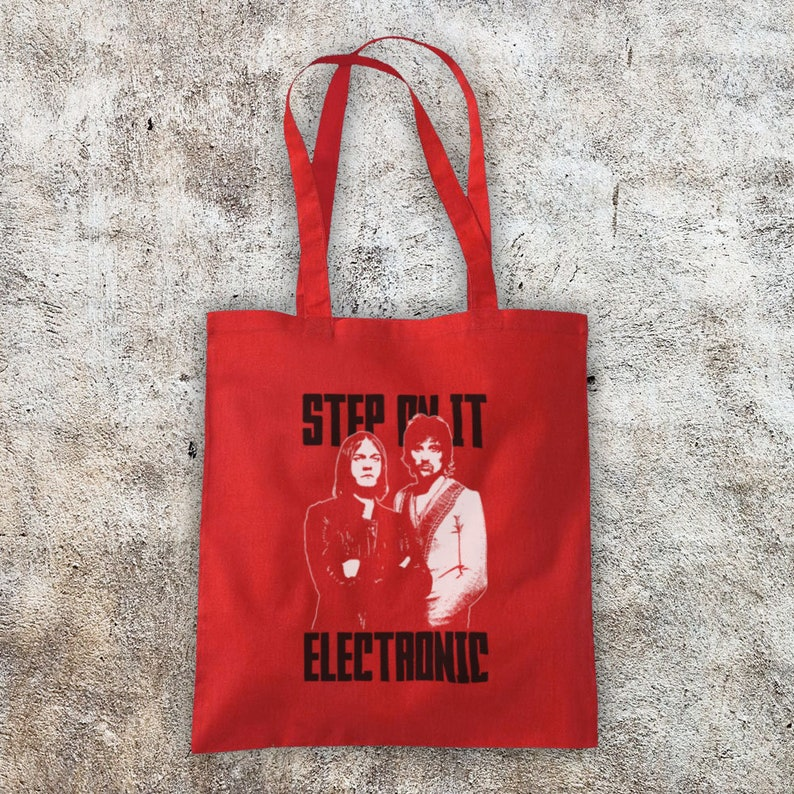 Lost Souls Forever LSF Rock Band Tom Meighan Serge Pizzorno Unofficial Cotton Tote Bag Shopper