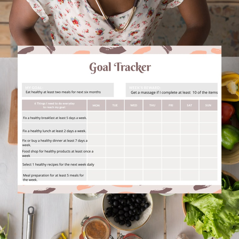 Weekly Goal Tracker image 0